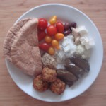 Mediterranean Lunch Plate from Trader Joe's