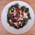 Trader Joe's Easy Upscale Spinach Salad